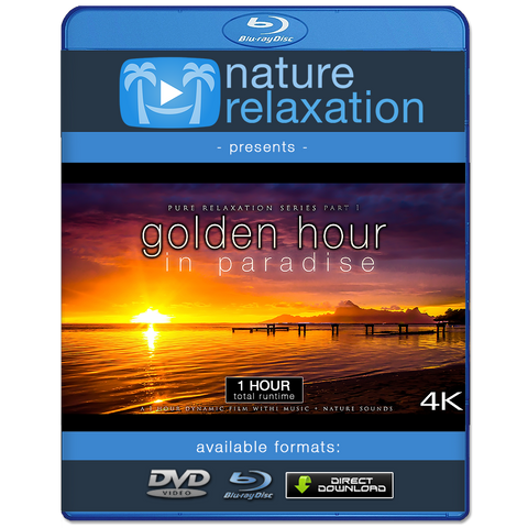 """Golden Hour in Paradise"" Sunsets & Sunrises 1HR Dynamic Film 4K"