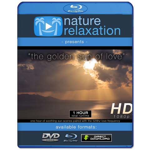 """The Golden Sun of Love"" 528 HZ Love Frequency 1 Hour Meditation Video"