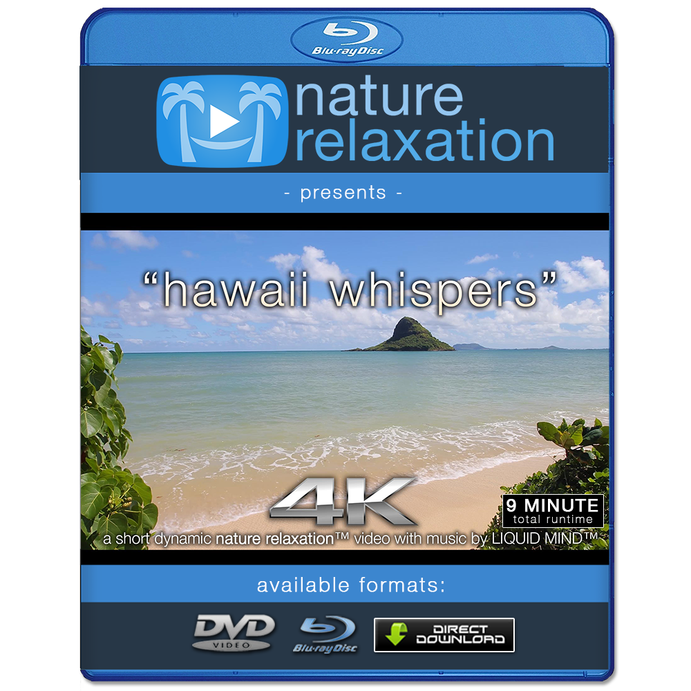 """Hawaii Whispers"" 4K Dynamic Short Nature Relaxation™ Music Video"