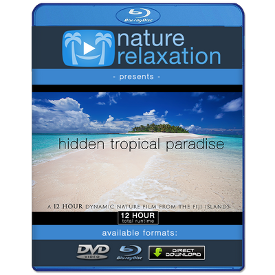 """Hidden Tropical Paradise"" Fiji Islands 12 Hour Ambient Film  w Music HD"
