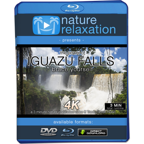 """Iguazu Falls: Brace Yourself"" Short 3 Minute Nature + Music Video 4K UHD"