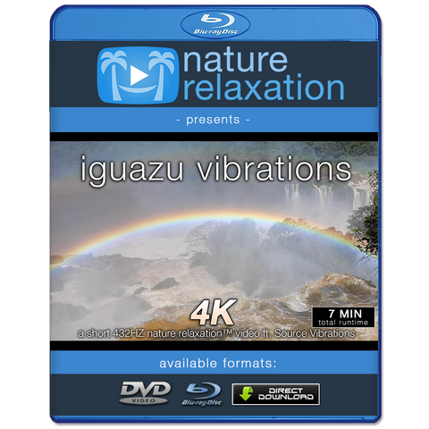 """Iguazu Vibrations"" Short Nature + Music Video 4K 432HZ"