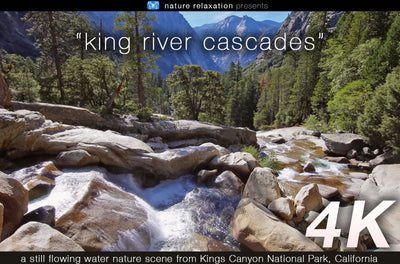 """King River Cascades"" Static Nature Video Scene 4K UHD"