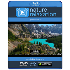 """Moraine Lake Relaxation"" 1 HR Dynamic Signature Nature Film 4K"