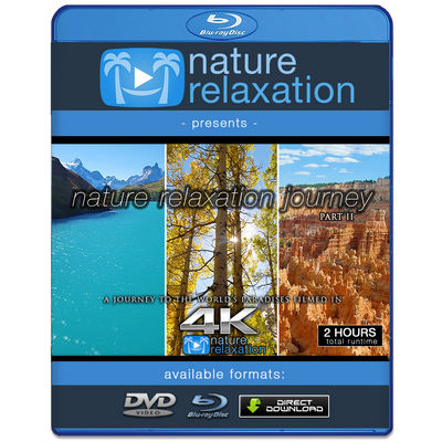 """Nature Relaxation Journey"" Part II 2-Hour Dynamic Video 4K"