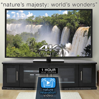 """Nature's Majesty: World's Wonders"" 1 HR Dynamic 4K UHD Music Video"