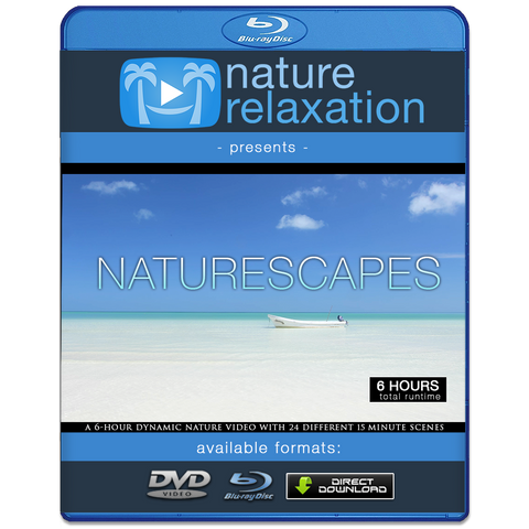"""NatureScapes"" 6 HOUR Nature Relaxation Video 4K UHD"