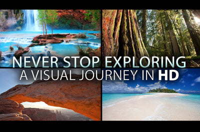 """Never Stop Exploring"" Uplifting Short Nature Relaxation Music Video HD 1080p"