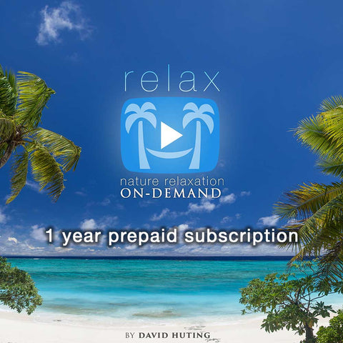 1 YR Annual Subscription Plan for Nature Relaxation On-Demand (Apps + Access)