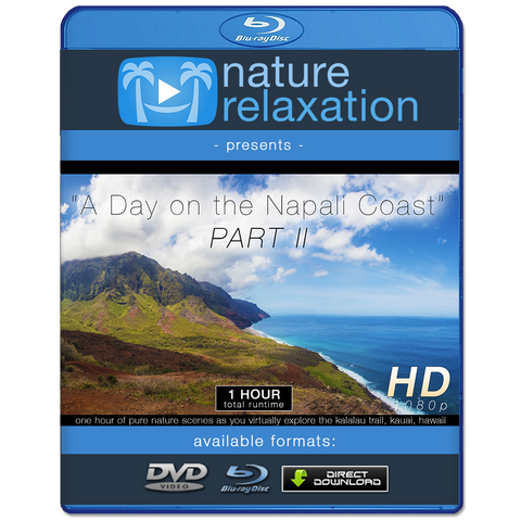 """A Day on the Napali Coast"" PART II Kauai 1 HR Nature Experience"