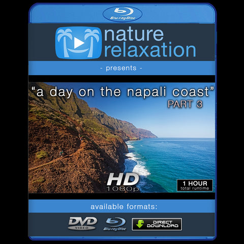 """A Day on the Napali Coast"" PART III Kauai 1 HR Nature Experience"