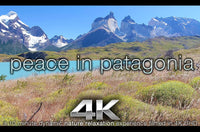 """Peace in Patagonia"" 10 MIN 4K Dynamic Relaxation Video w Music"