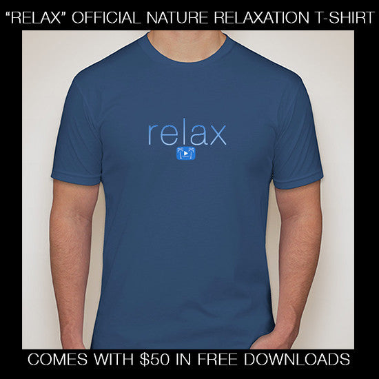 """Relax"" Official Nature Relaxation™ Premium T-Shirt"