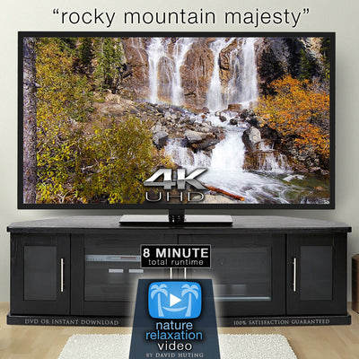 """Rocky Mountain Majesty"" 4K UHD Nature Relaxation Music Video"