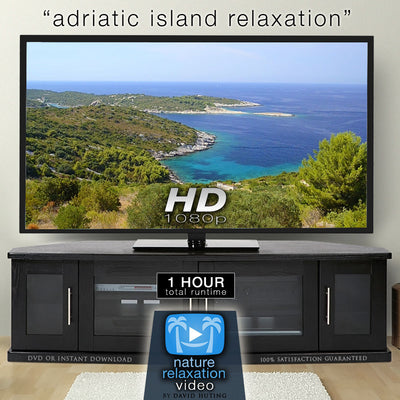 """Viz Island: Adriatic Island Relaxation"" 1 HR Dynamic Nature Video"