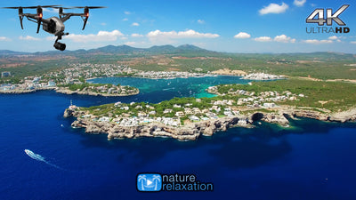 """Above the Spanish Isles: Mallorca & Canary"" 1 HR DRONE Film in 4K UHD w/ Music"