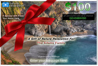 Nature Relaxation Gift Cards: Give the Gift of Relaxation!