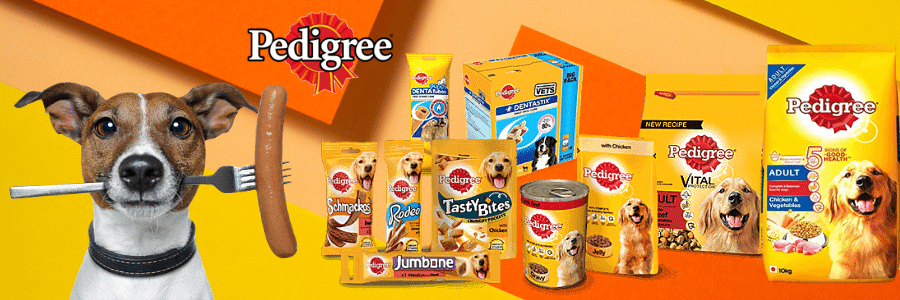 Pedigree Dog Food for Puppies and Adult Dogs