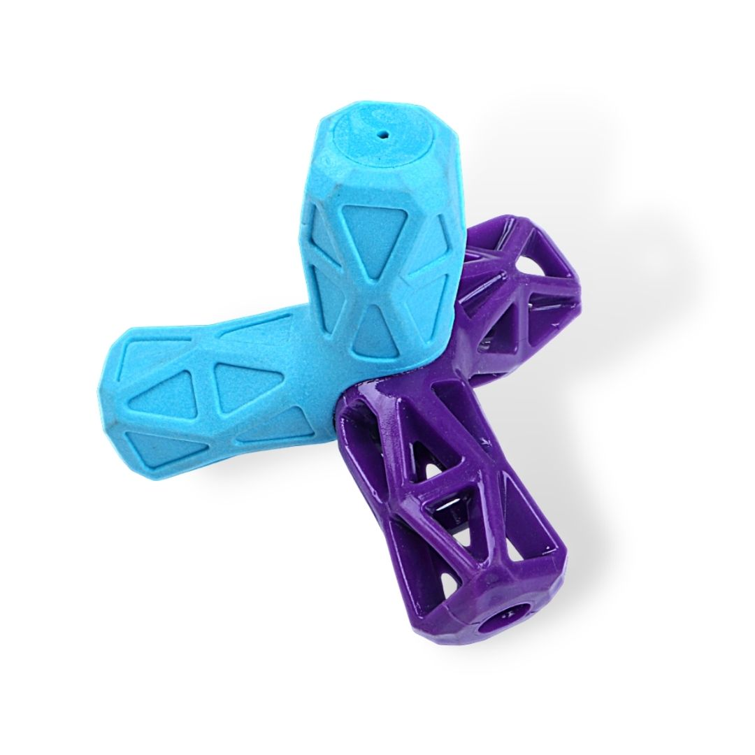 EE Toys Frisbee shaped Dog Chew Toy - Poochles