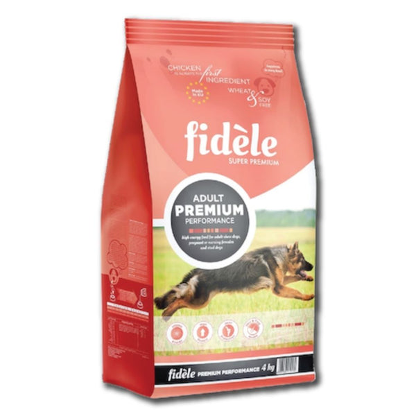 Fidele Super Premium Performance Adult Dog Food-Dog Food-Orange Pet Nutrition-1 Kg-Poochles India