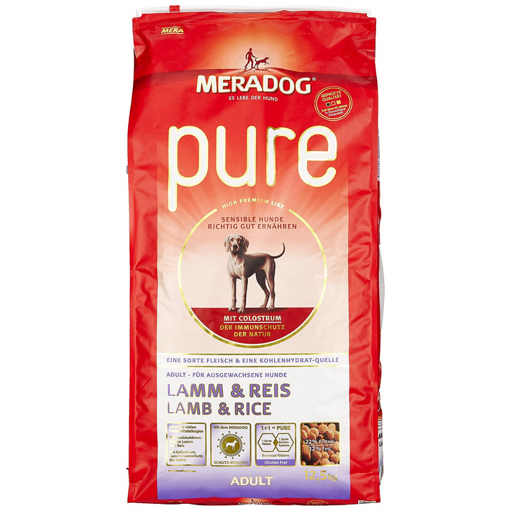 MeraDog Lamb And Rice Dog Food - Poochles