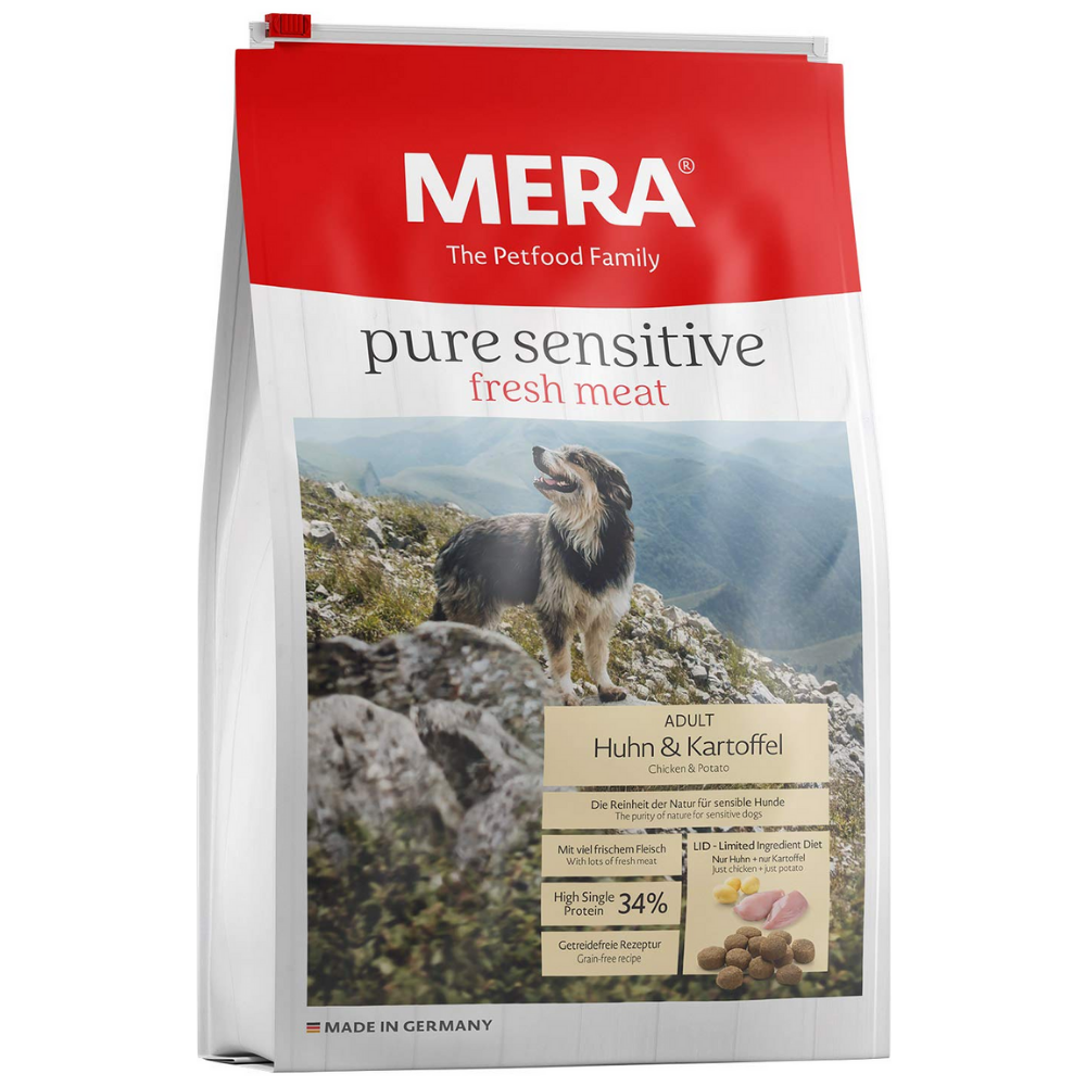MeraDod Chicken And Potato Grain Free Dog Food - Poochles