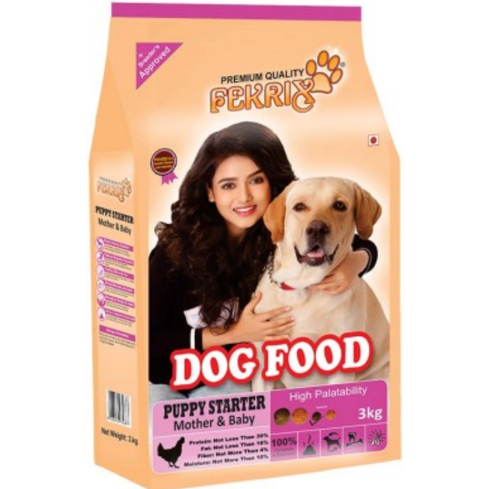 Fekrix Starter Mother and baby Dog Food - Poochles
