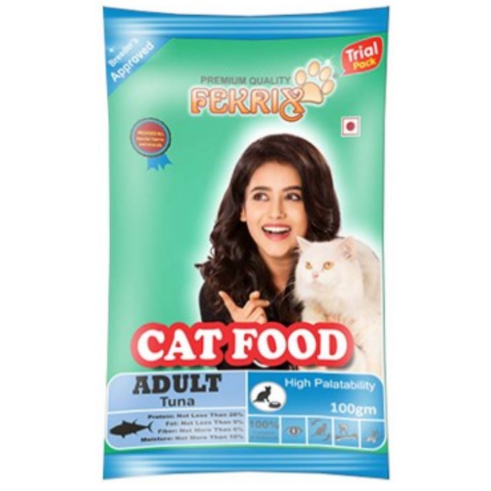 Fekrix Tuna Flavored Adult Cat Food-Cat Food-Fekrix-1.8Kg-Poochles India