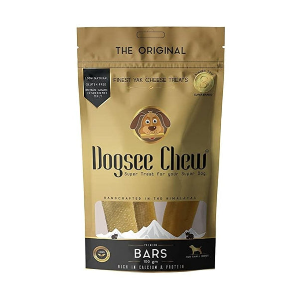 Dogsee Long Lasting Dental Chew Medium Bars For Medium Dogs-Treats-Dogsee-Pack of 1-Poochles India