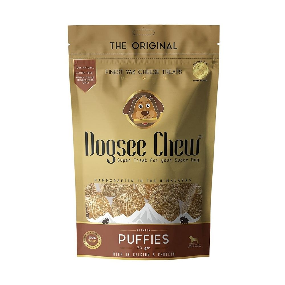 Dogsee Puffies Bite Sized Dog Training Treats-Treats-Dogsee-Pack of 1-Poochles India