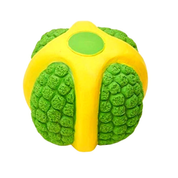 EE Toys Green Latex Ball Dog Toy - Poochles