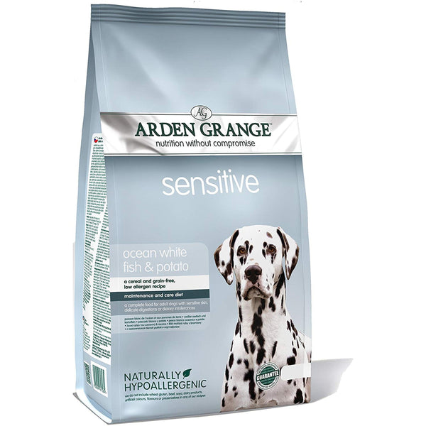 Arden Grange Adult Dog Sensitive Dog Food - Poochles