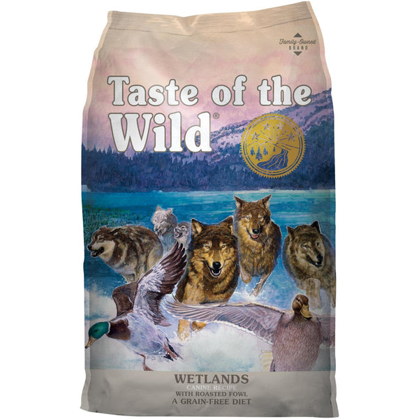 Taste Of The Wild Wetlands Canine Dry Dog Food (Wild Fowl) - Poochles
