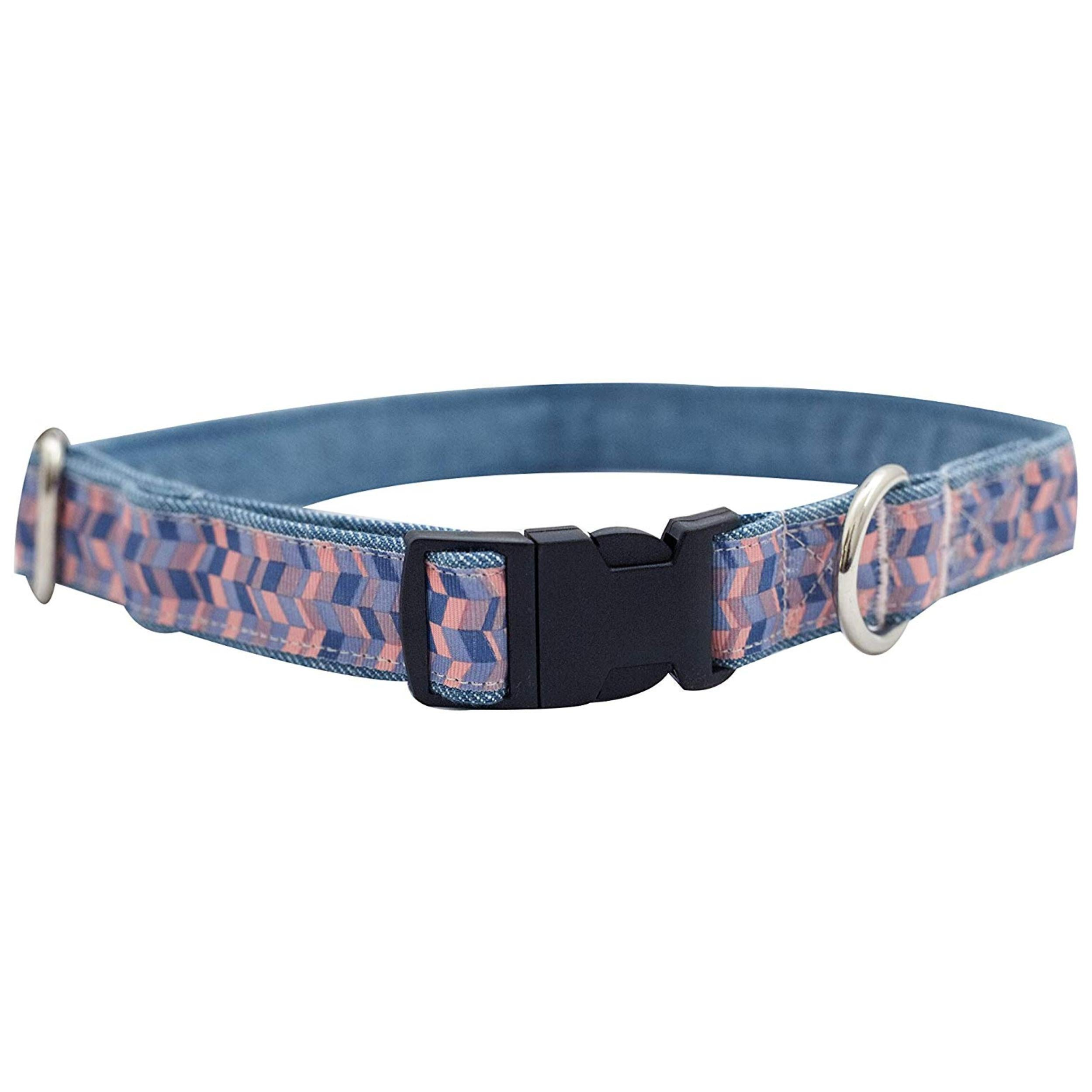 Geometrical Collar & Leash Set For Dogs - Poochles