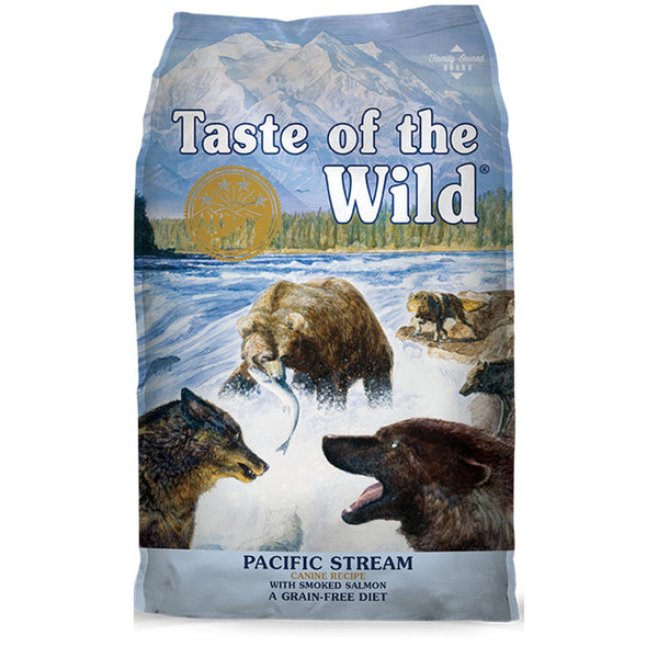 Taste Of The Wild Pacific Stream Canine Dry Dog Food (Smoked Salmon) - Poochles