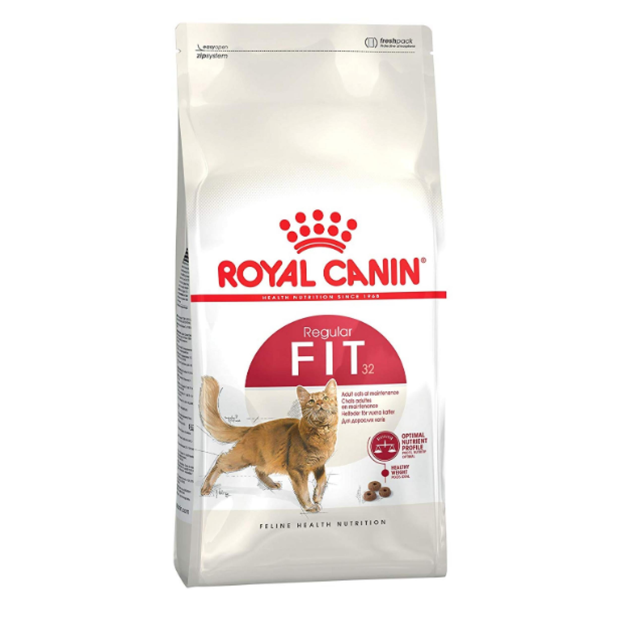 Royal Canin Feline Fit 32 Cat Dry Food - Poochles
