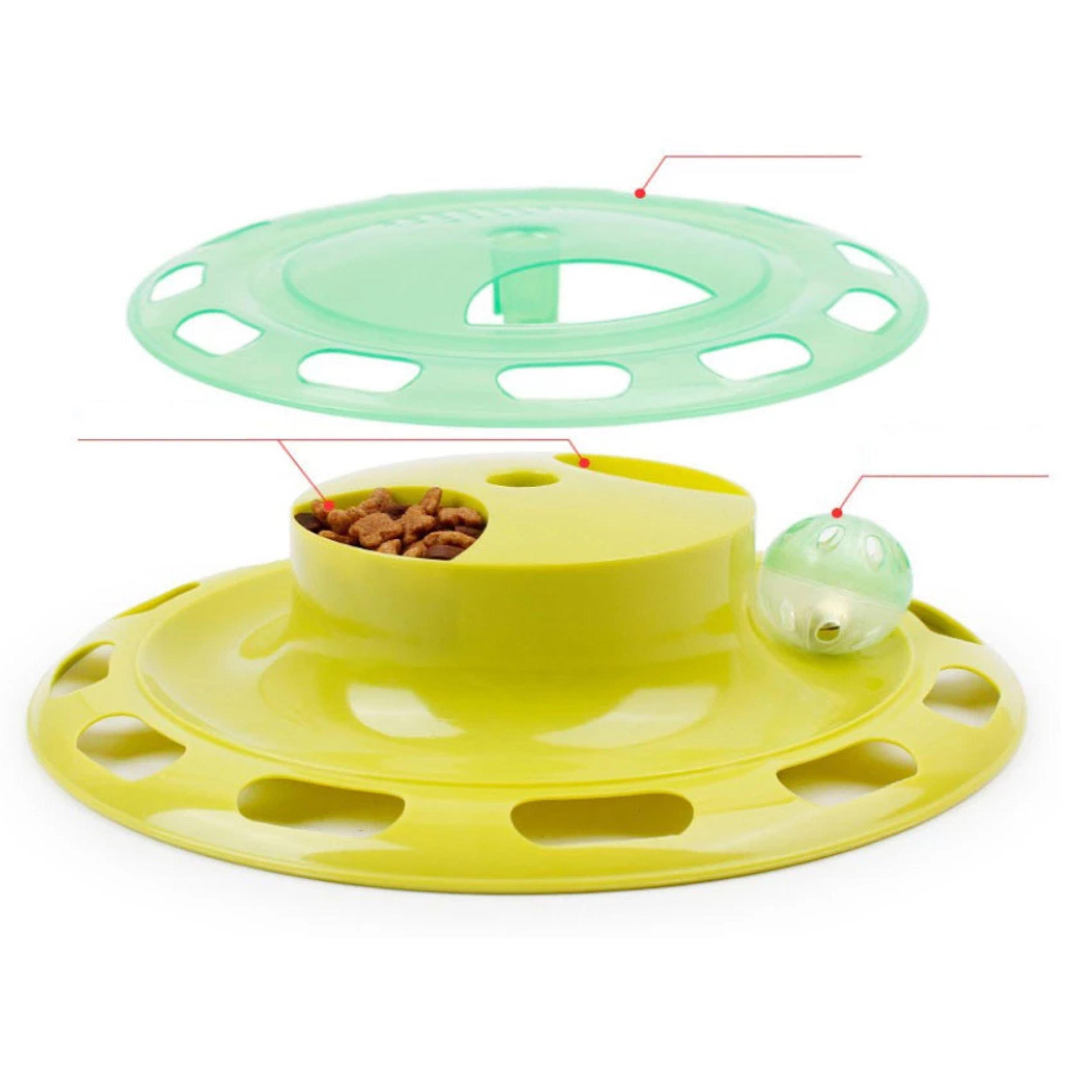 Cat Truntable Interactive Play Toy - Poochles