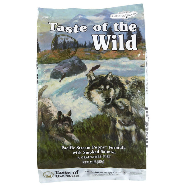 Taste Of The Wild Pacific Stream Puppy Dry Food (Smoked Salmon) - Poochles