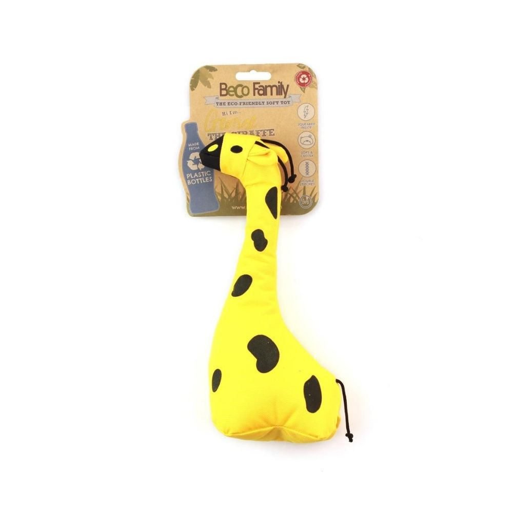 """George The Giraffe"" Soft Plush Dog Toy For Puppies And Adult Gentle Chewers-Dog Toys-Beco-Small-Poochles India"