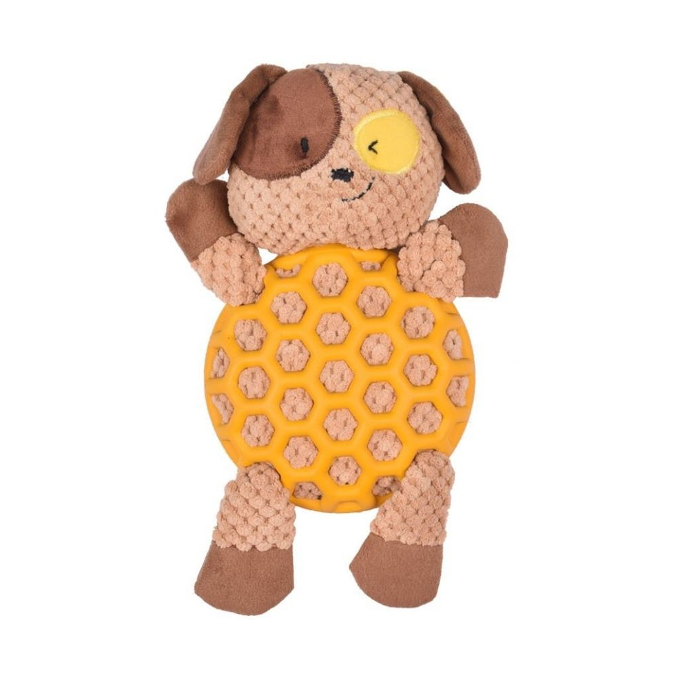 """Scooby - The Dog"" Plush Dog Toy For Puppies Of All Breeds-Dog Toys-Euro Pet-Small-Poochles India"
