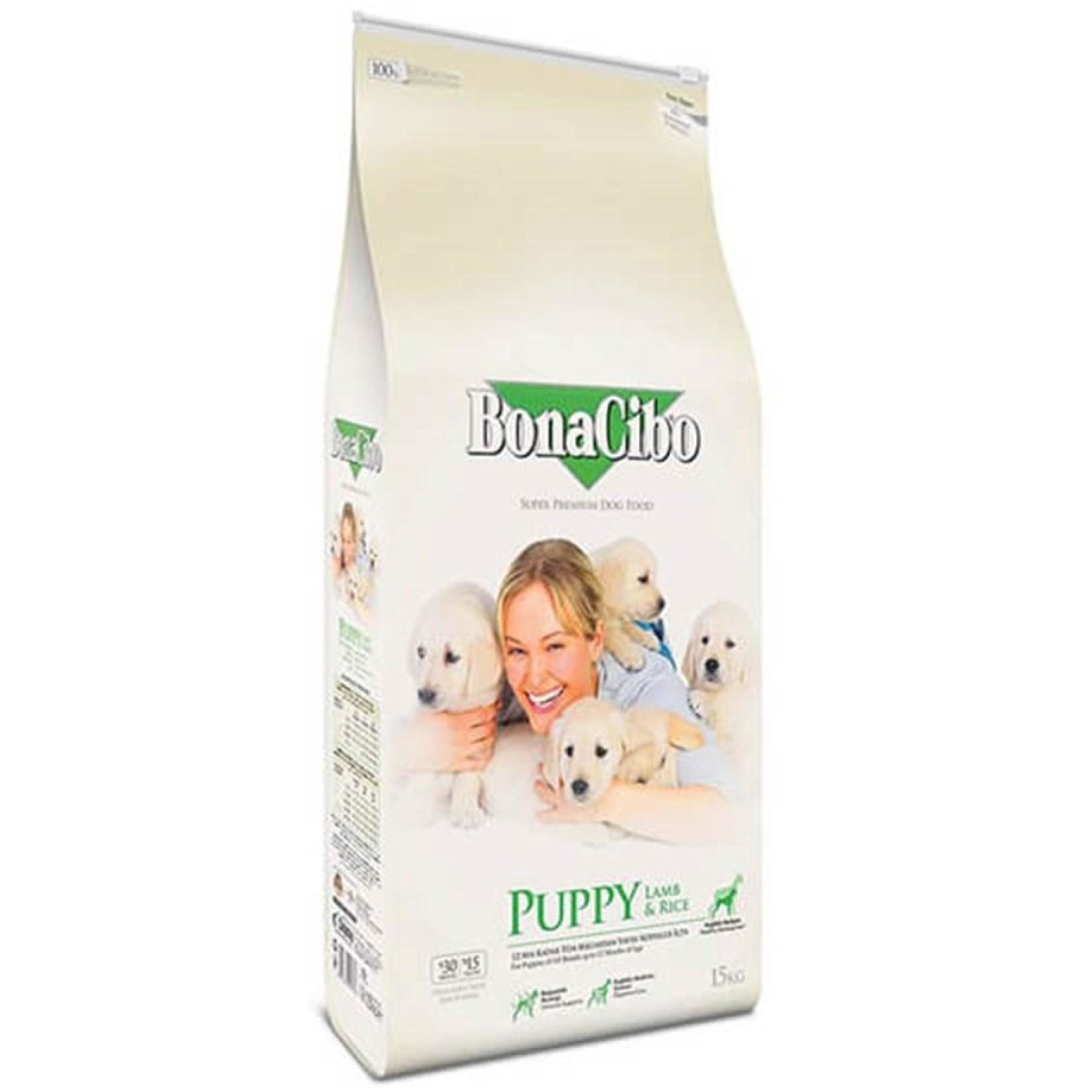 BonaCibo Puppy Lamb and Rice Dog Food - Poochles
