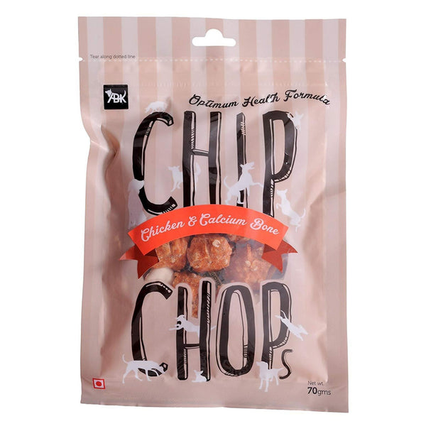 Chip Chop Calcium and Bone Dog Chew Treats - Poochles