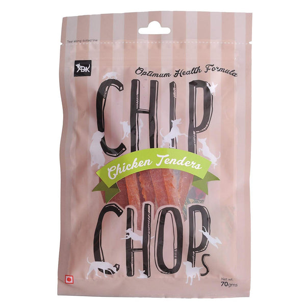 Chip Chops Chicken Tenders Dog Chew Treats - Poochles
