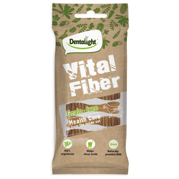 Dentalight Vital Fiber Bone Dental Treat For Dog - Poochles