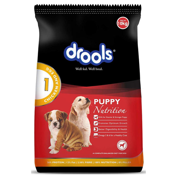 Drools Chicken And Egg Puppy Dog Food - Poochles