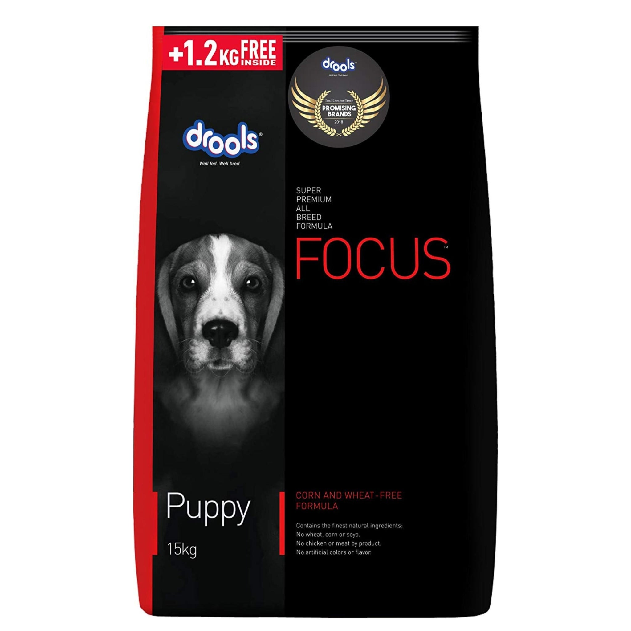 Drools Focus Puppy Dog Food - Poochles
