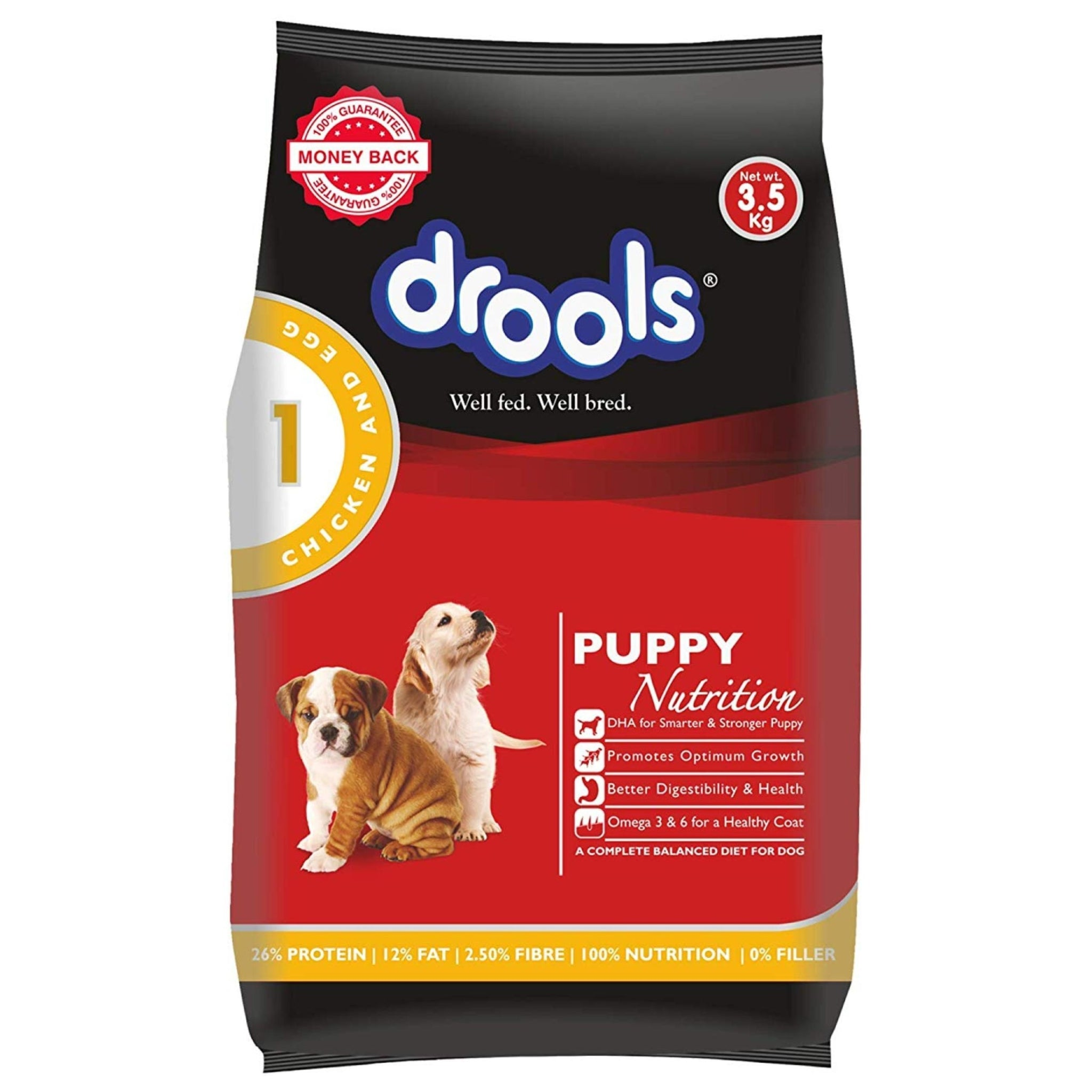 Drools Puppy Starter Dog Food - Poochles