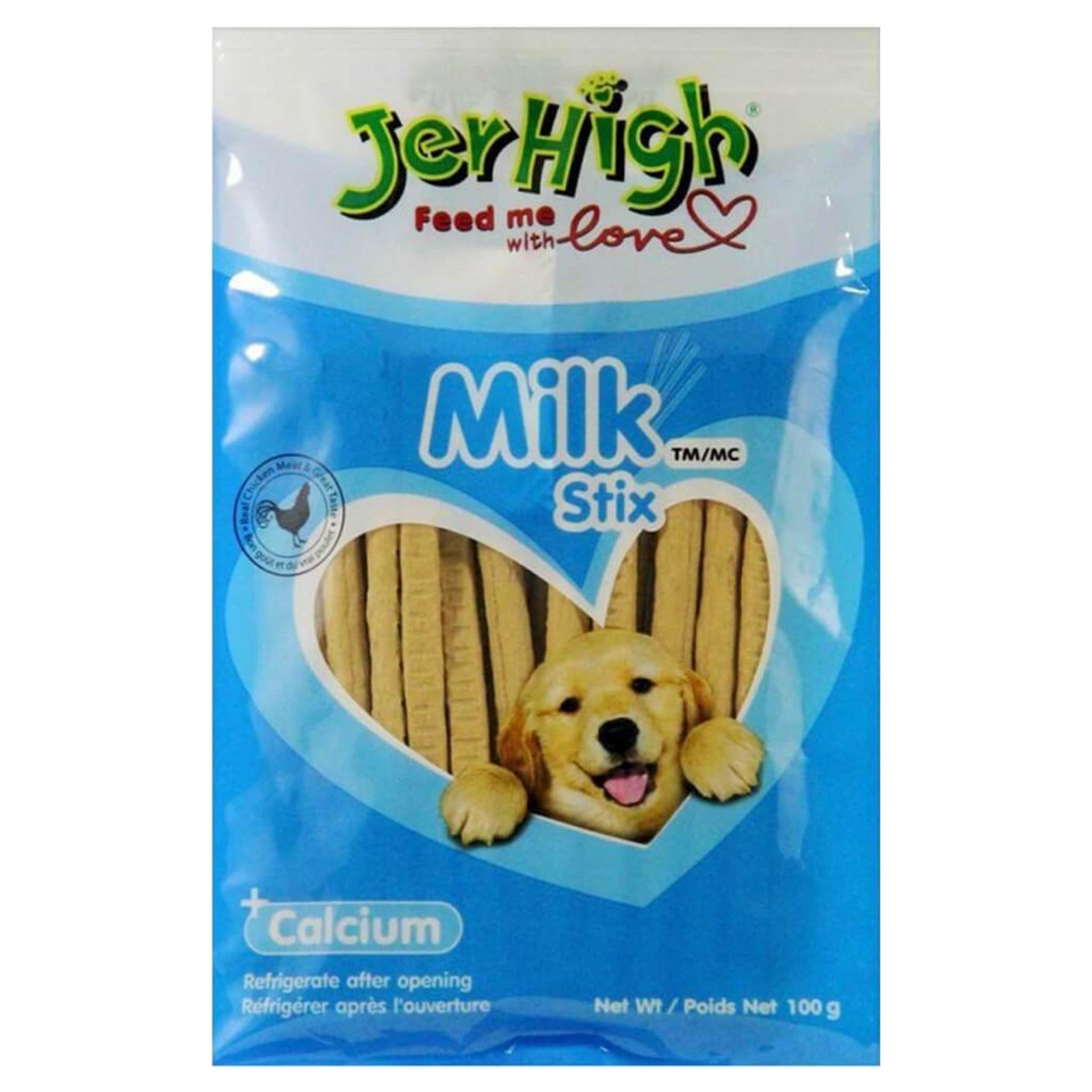 JerHigh Milk Stix Dog Treats - Poochles