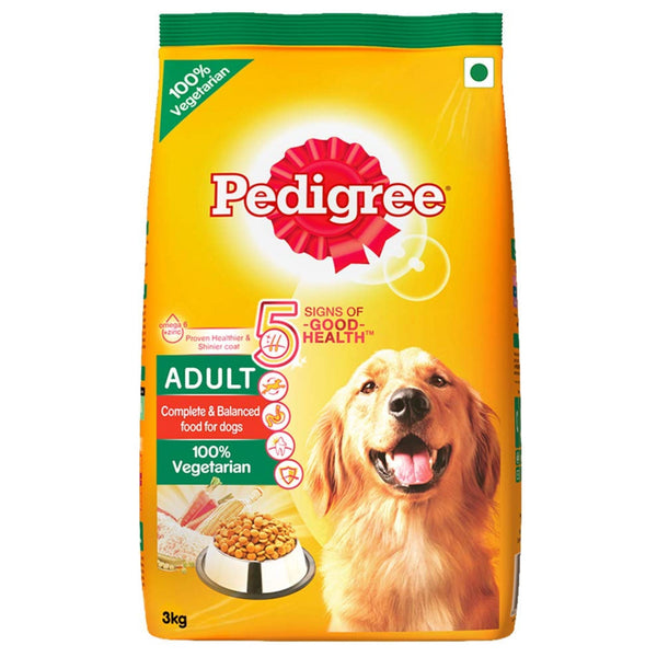 Pedigree 100% Vegetarian Adult Dog Food - Poochles