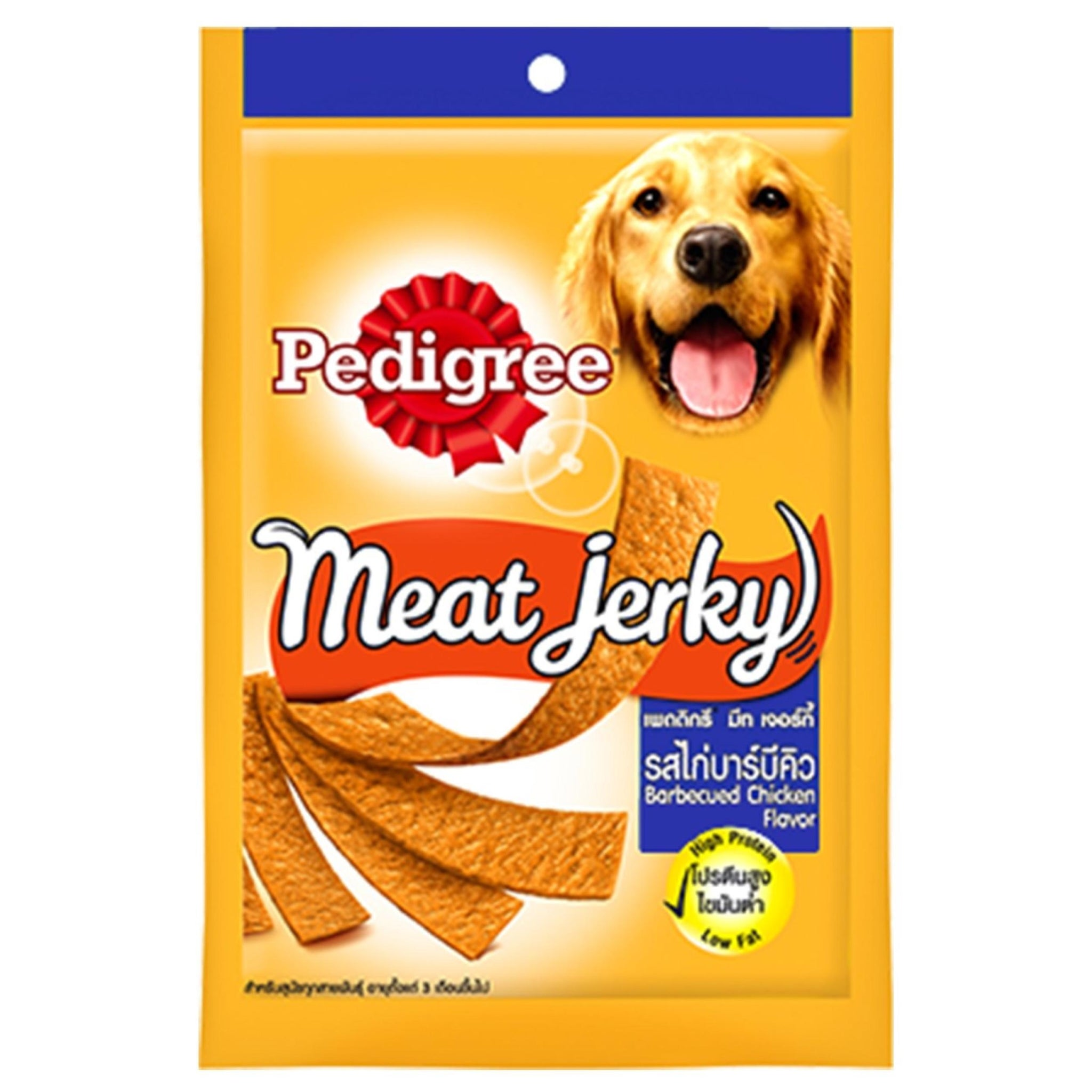 Pedigree Care and Treats Adult Meat Jerky Barbeque Chicken Chew Treat - Poochles